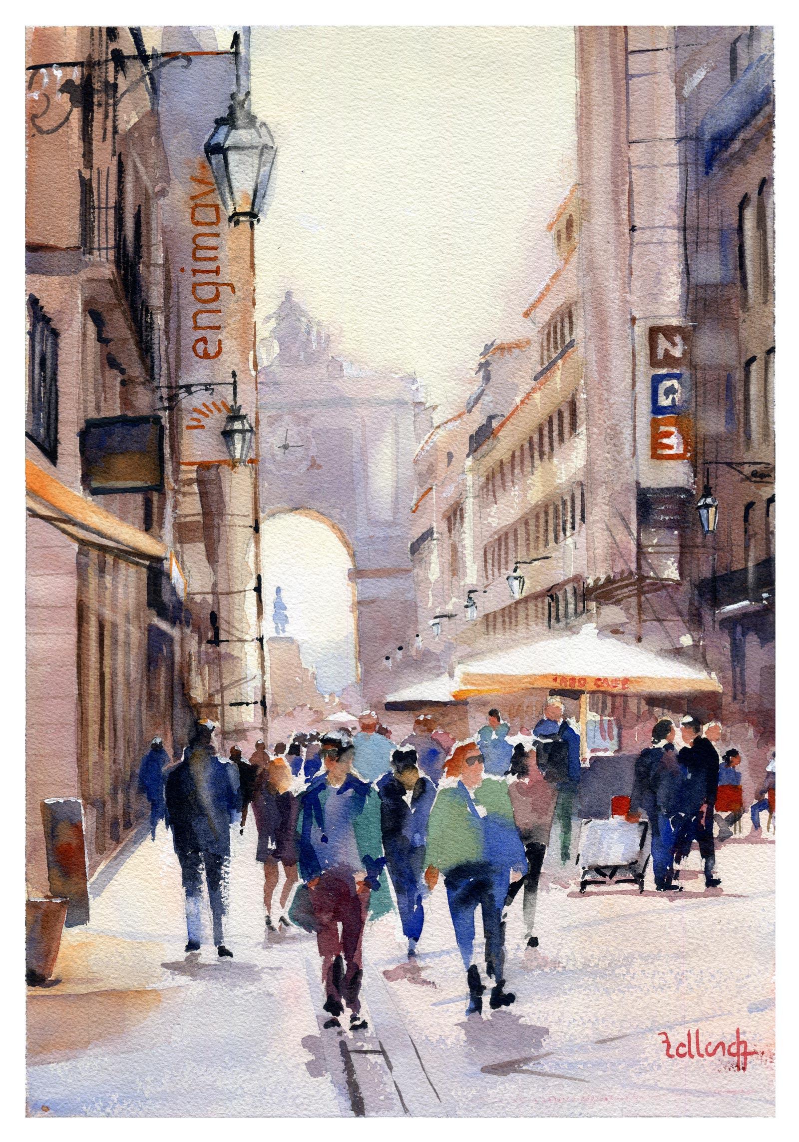 Lisbonne rua Augusta