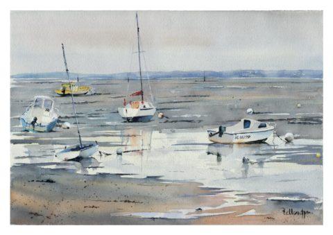 Marée basse Arcachon