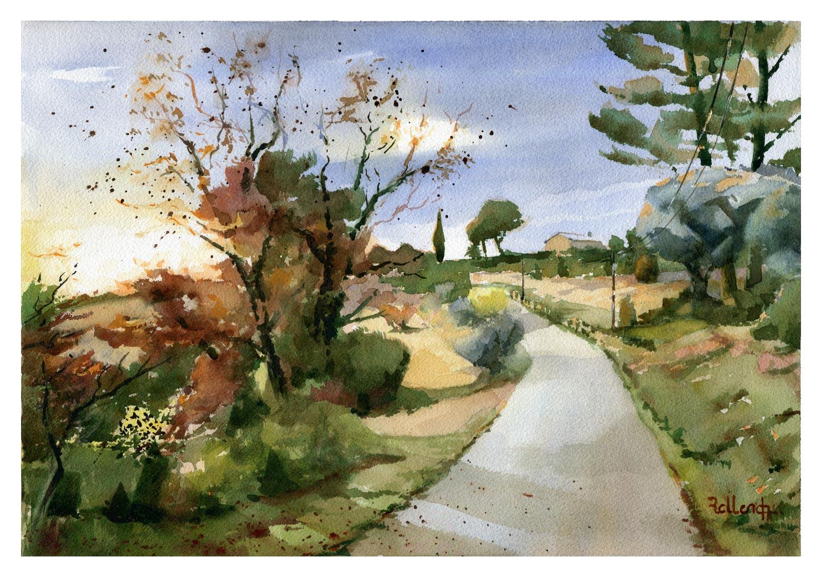 Chemin de Bondelon