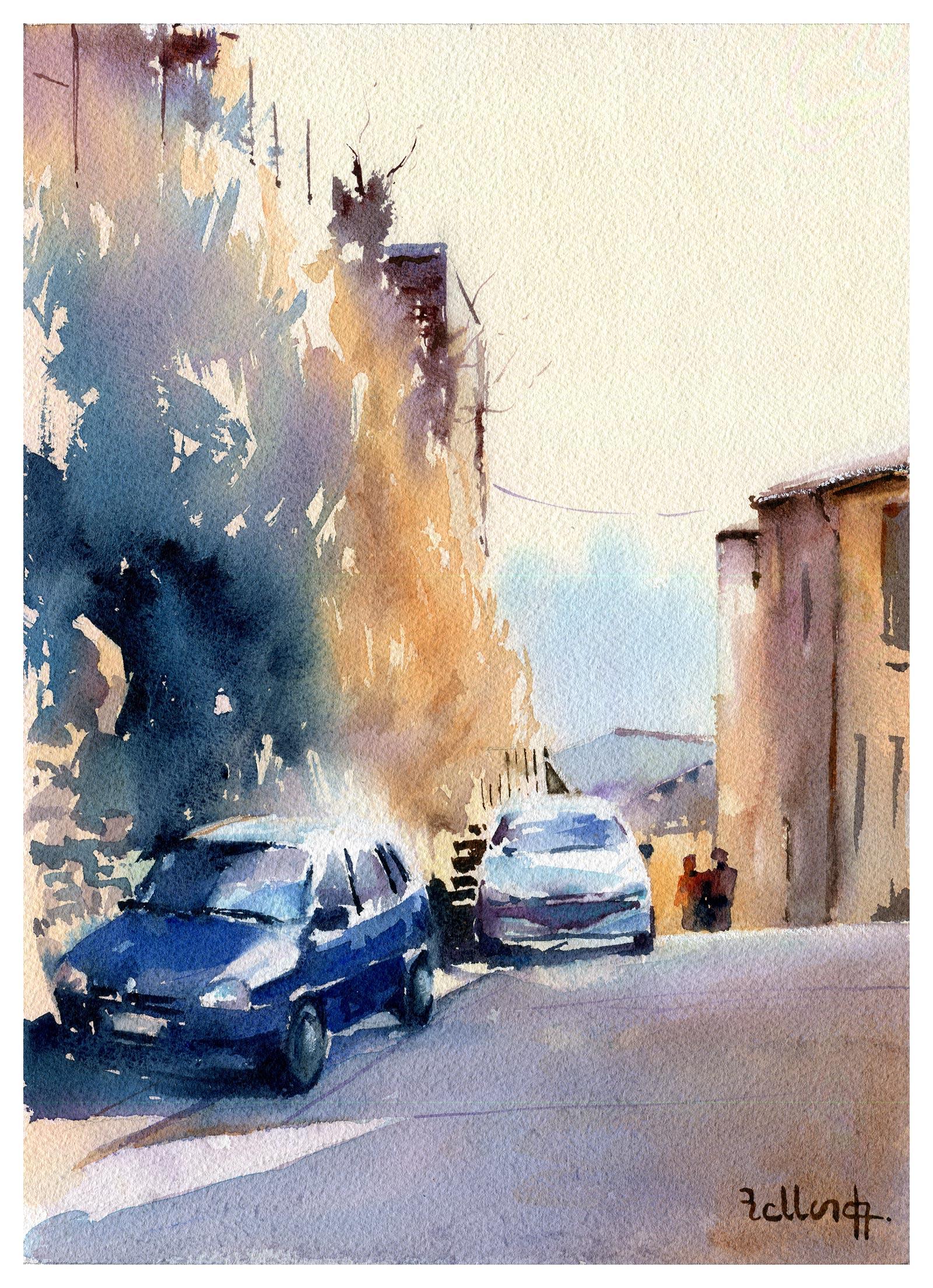 Lagnes rue des remparts